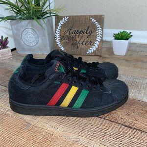 Adidas Superstar Black Hemp Rasta Rare Shoes Shell
